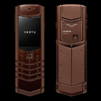 Vertu Signature S Design PURE CHOCOLATE STAINLESS STEEL