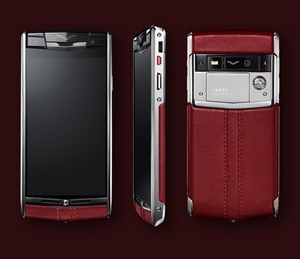 VERTU SIGNATURE TOUCH CLARET LEATHER