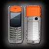 VERTU ASCENT X 2010 ALUMINIUM ORANGE RUBBER