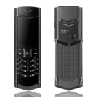 Vertu Signature S Design Clous De Paris Stainless Steel Black PVD