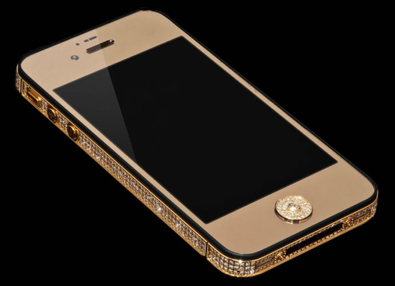 $1Million Gold and Diamond iPhone 5