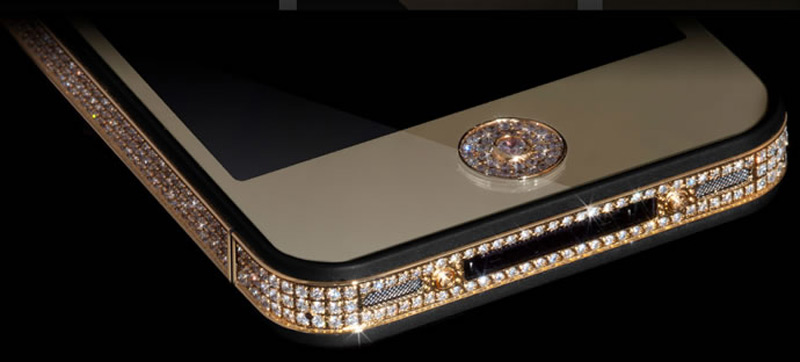 $1Million Gold and Diamond iPhone 5-9