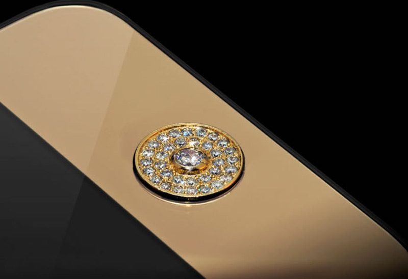 $1Million Gold and Diamond iPhone 5-10