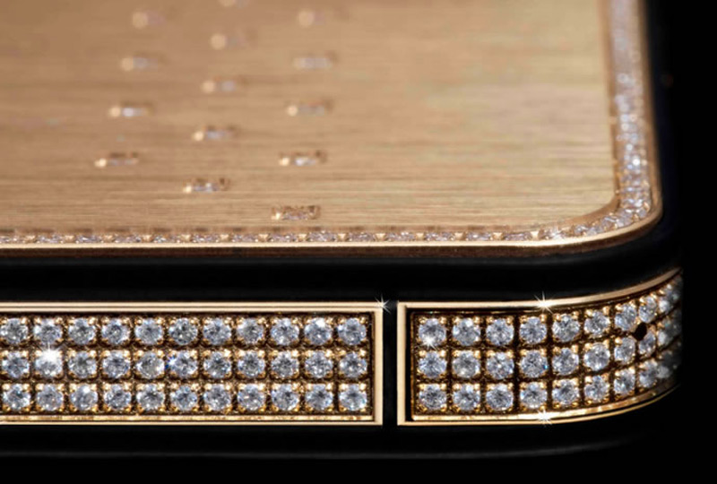 $1Million Gold and Diamond iPhone 5-11