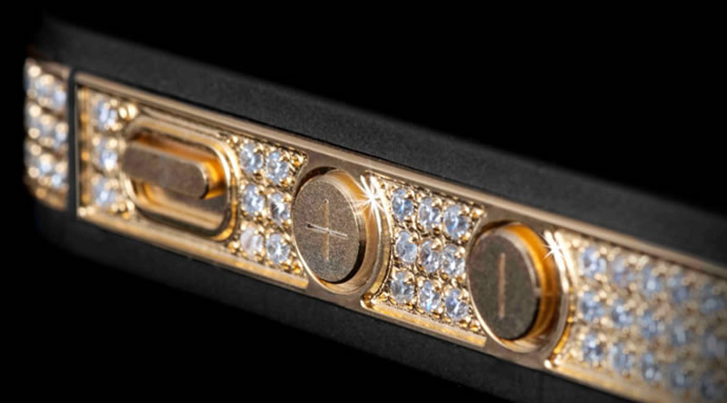 $1Million Gold and Diamond iPhone 5-12