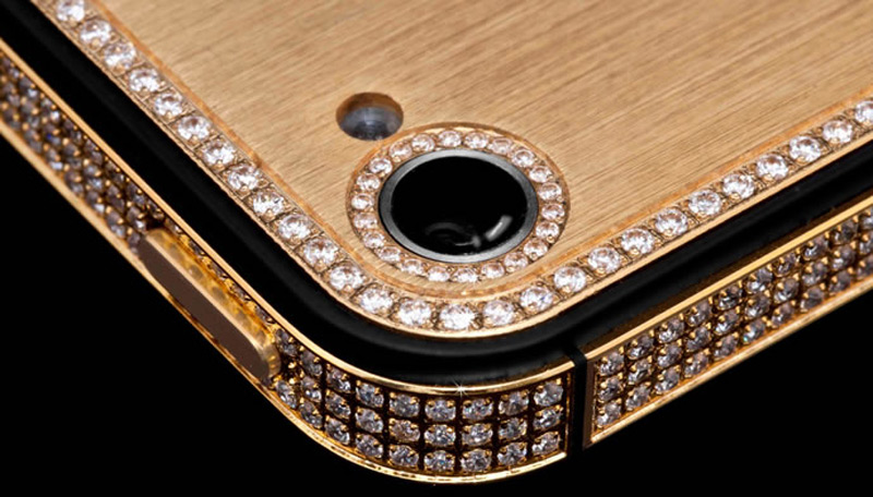 $1Million Gold and Diamond iPhone 5-13