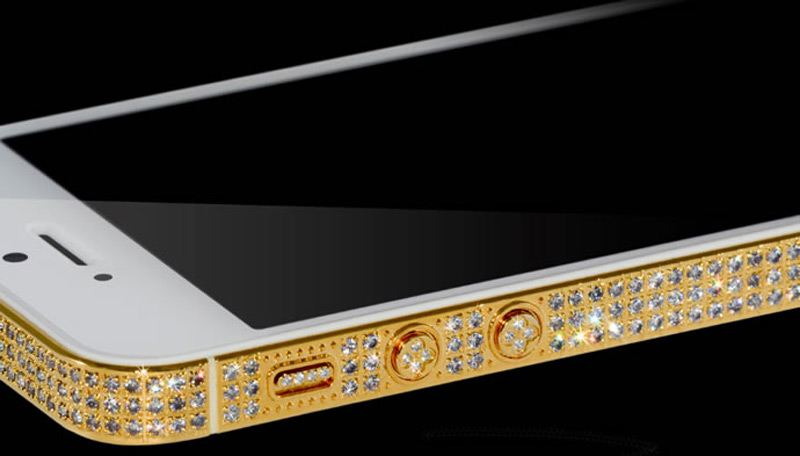 $1Million Gold and Diamond iPhone 5-15