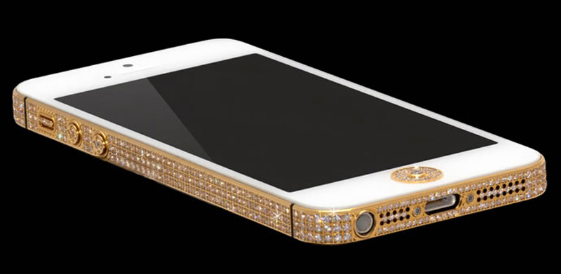 $1Million Gold and Diamond iPhone 5-1