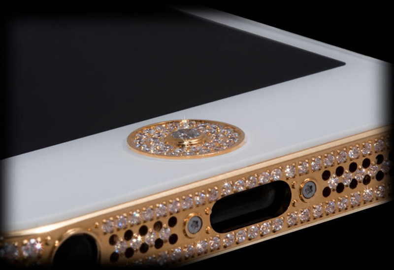 $1Million Gold and Diamond iPhone 5-3