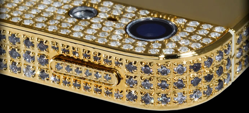 $1Million Gold and Diamond iPhone 5-6