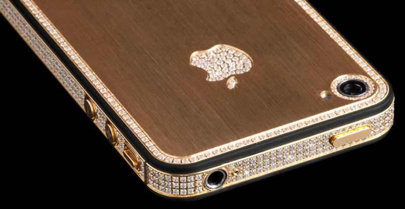 $1Million Gold and Diamond iPhone 5-8