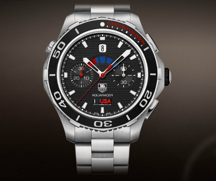 TAG Heuer Aquaracer 500m Calibre 72 Countdown Automatic Chronograph 43 MM