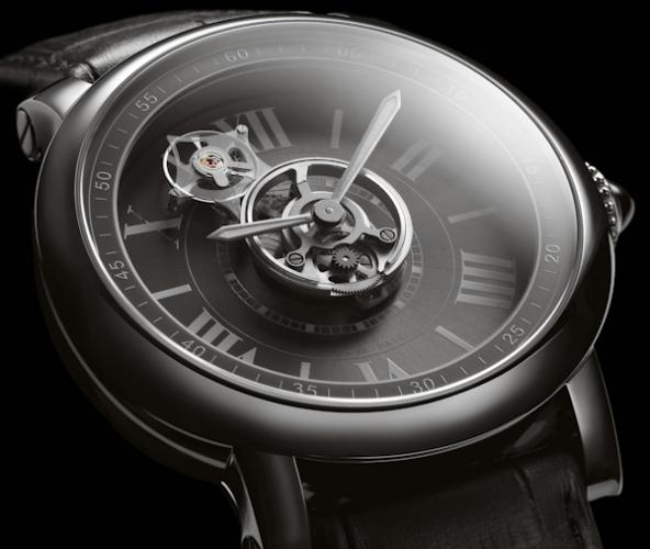 часы Cartier Astrotourbillon Carbon Crystal