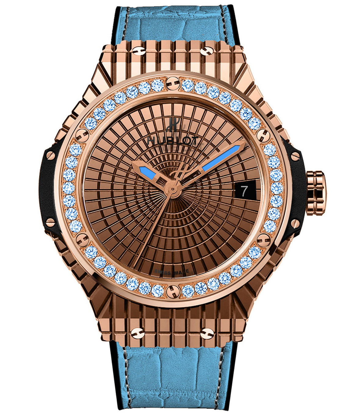 "Hublot Big Bang Caviar ""Lady 305""-gold"