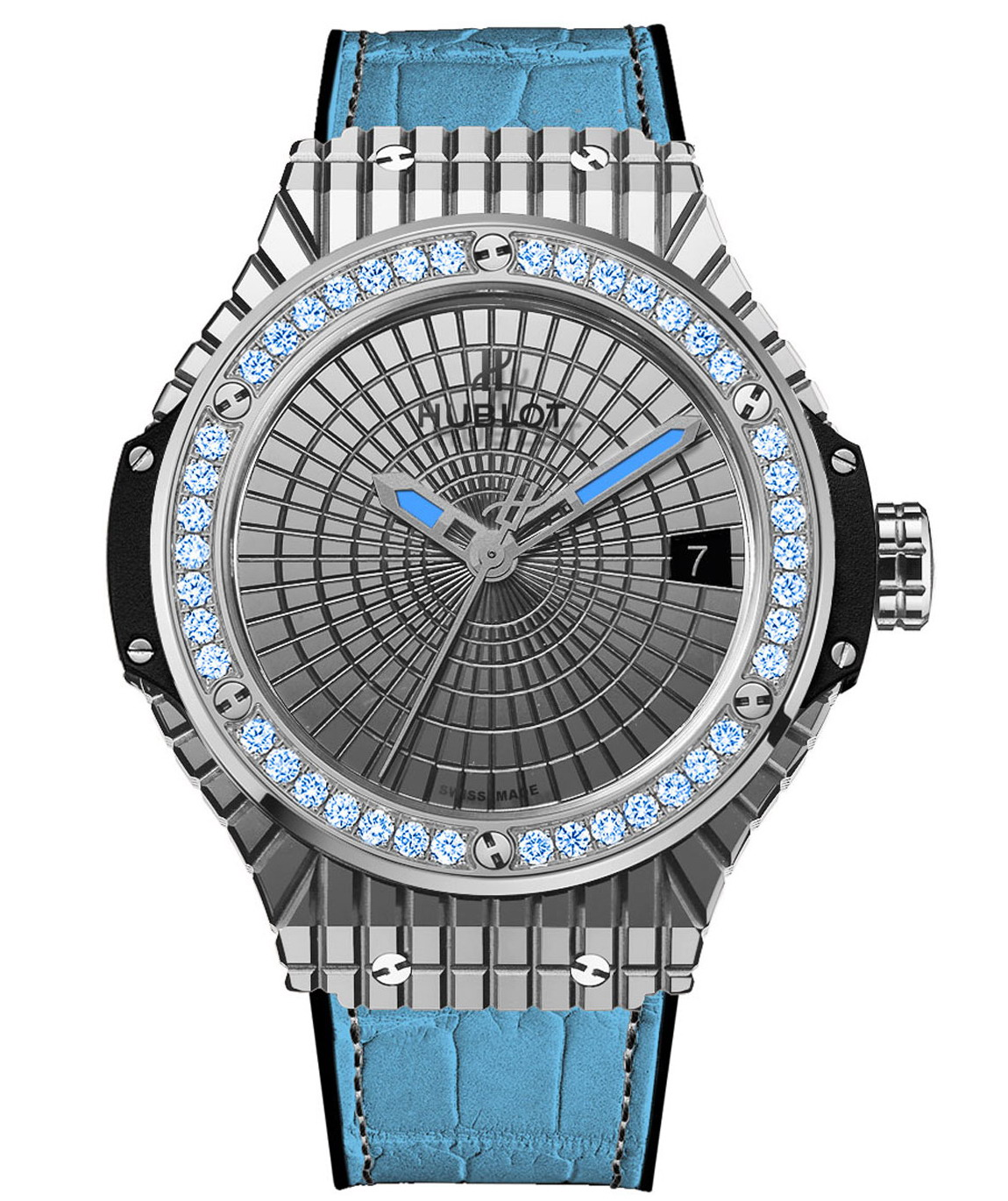 "Hublot Big Bang Caviar ""Lady 305""-steel"