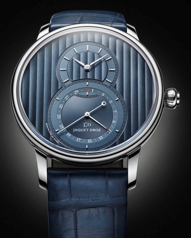 Jaquet Droz Grand Second Quantieme Blue