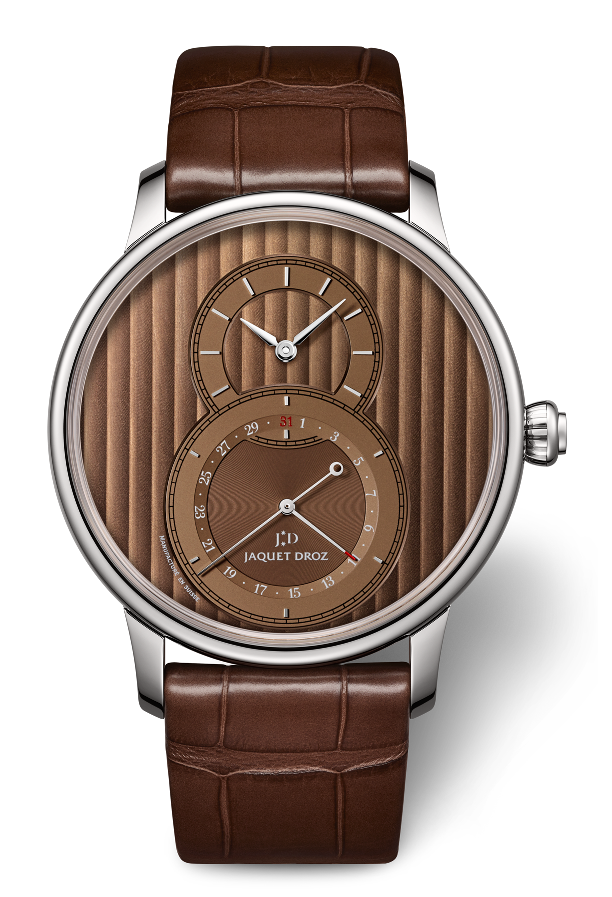 Jaquet Droz Grand Second Quantieme Chocolate