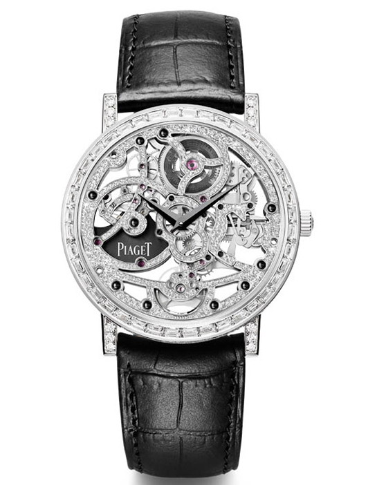 Piaget Altiplano Gem-Set Skeleton