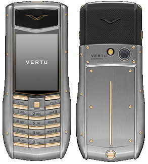 Vertu Ascent Ti Brushed Titanium Gold
