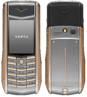 Vertu Ascent Ti Knurled Red Gold