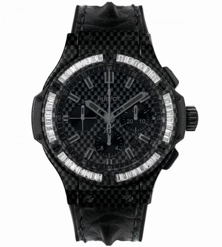 Hublot Big Bang Carbon Bezel Baguette Collection-4