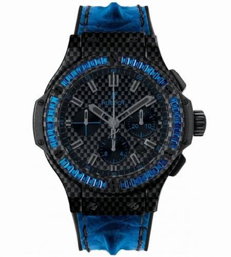 Hublot Big Bang Carbon Bezel Baguette Collection-3