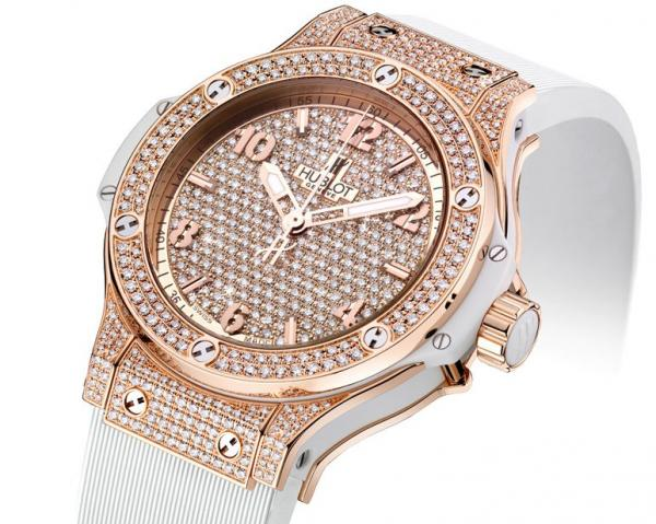 Hublot Big Bang Gold Full Pavé Set
