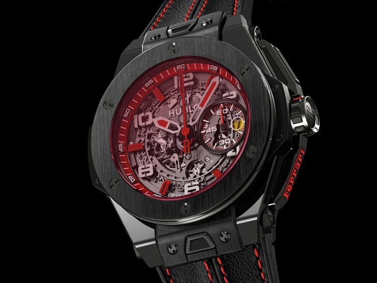 Hublot Big Bang Ferrari Singapore Limited Edition