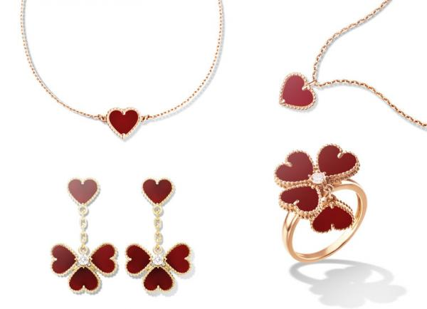 Van Cleef & Arpels Sweet Alhambra Collection
